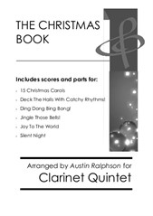 The Christmas Book - clarinet quintet pack / bundle